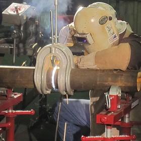 Aluminium Horseshoe Pipe Clamps Model 253
