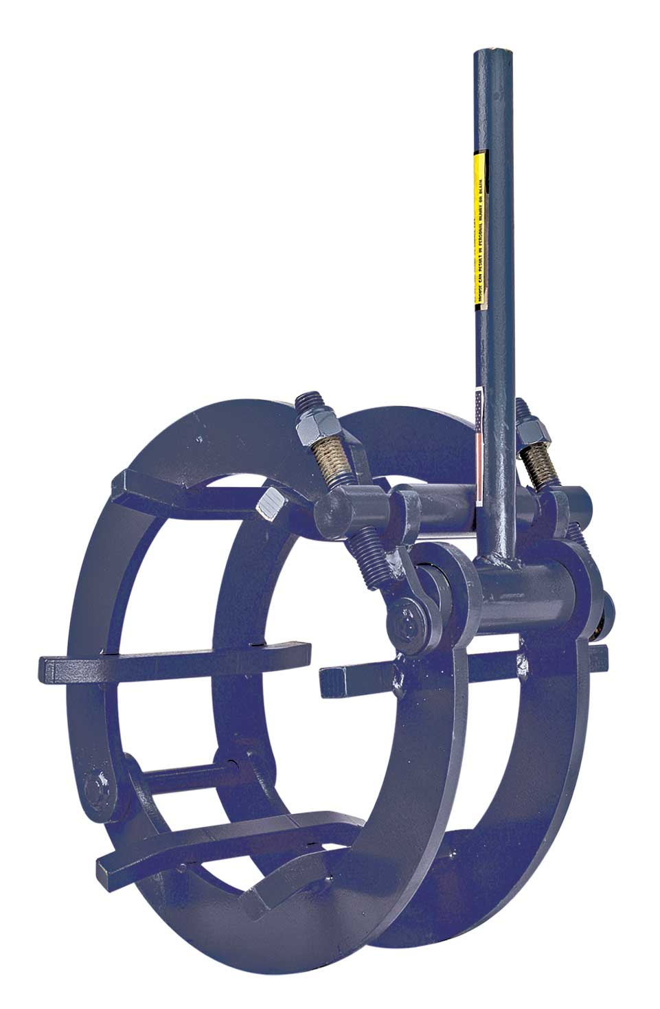 Manual external pipe clamp cage type pces