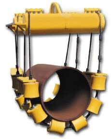 Pipe Lifting Wrap Around Roller Cradle