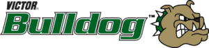 a picture of the victor technologies bulldog logo