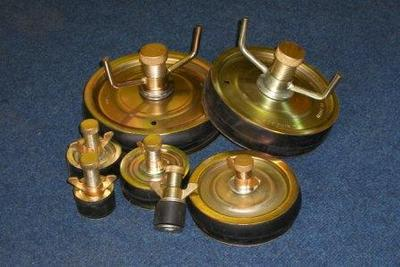 Steel Pipe Stopper Sealing Plugs Pces